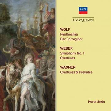 Wolf, Weber, Wagner - Orchestral Works | Australian Eloquence ELQ4825207